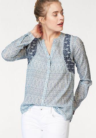 Pepe джинсы блузка с набивным рисунком...