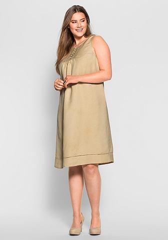 SHEEGO CLASS Платье льняное