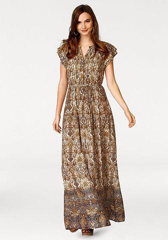 Mc GREGOR NEW YORK 1921 платье-макси д...