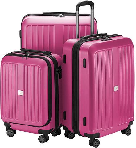 Набор чемоданов с 4 колесики 3 шт. &ra...