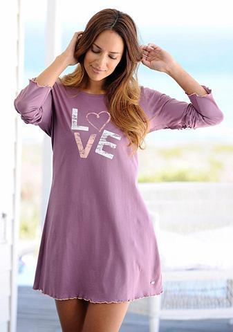 Рубашка ночная с Декорация «Love...