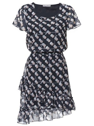 Платье с оборка