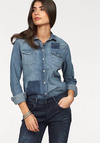 Джинсовая блузка »Patch«
