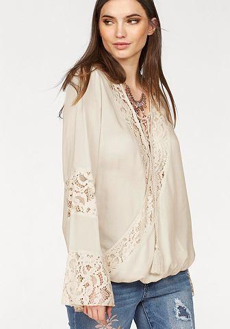 LAURA SCOTT Блузка с кружевом