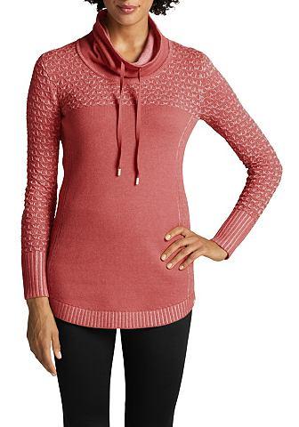 Пуловер с Fangmaschen