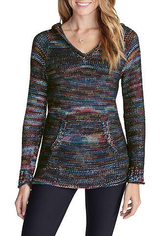 Пуловер с капюшоном meliert