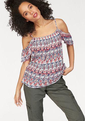 Kanga ROOS блуза в стиле кармен