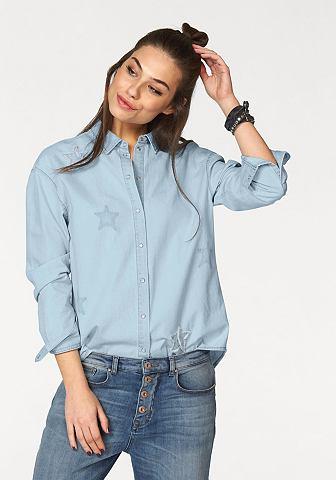 Джинсовая блузка »LAURA«