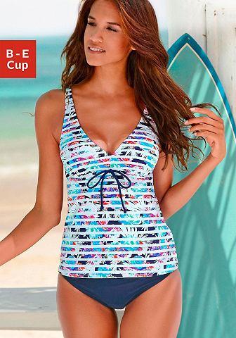 Купальник в модный Tropical-Print