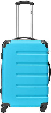 "PACKENGER Пластиковый чемодан на колесах ""M..."