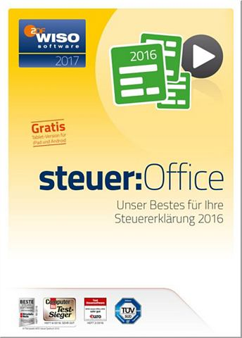 Software »WISO Steuer-Office 201...