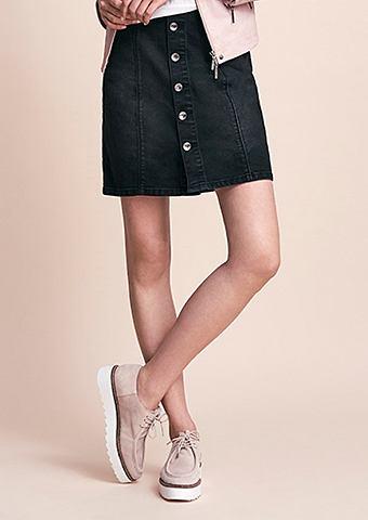 MORE&MORE Black denim юбка