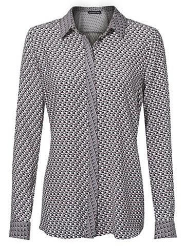 Блузка с набивным рисунком вискоза