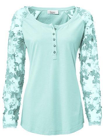 Блуза с круглым вырезом с Spitzen&auml...