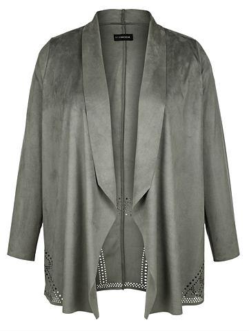 Куртка из Veloursimitat