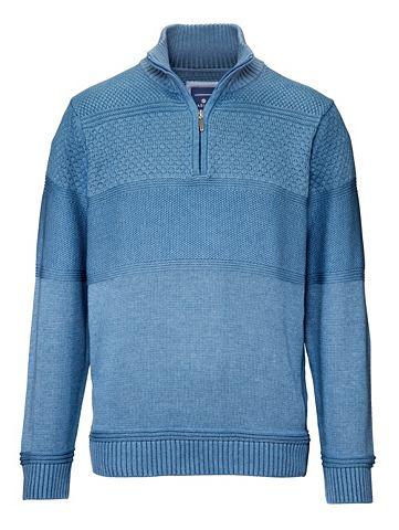 Пуловер с aufwändigem Strickmuste...