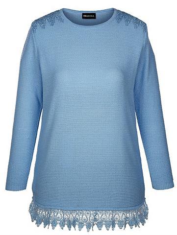 Пуловер с Strukturstrick