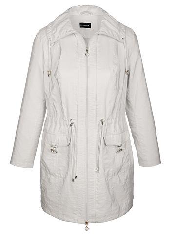Куртка в сдержанный блестящий имитация...
