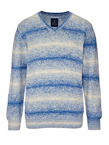 Пуловер с individuellem узор