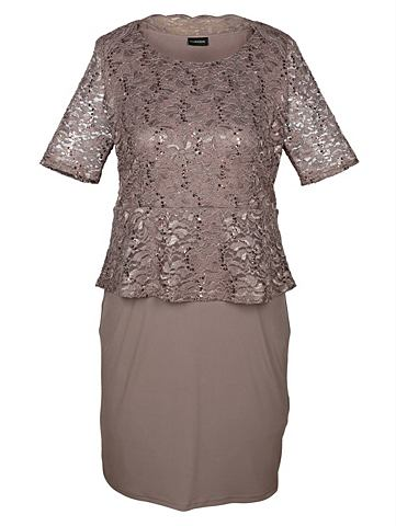 Платье с кружевая верхняя часть