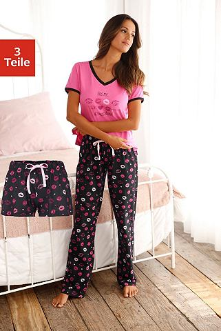 Пижама (3-teilig) с langer брюки и шор...