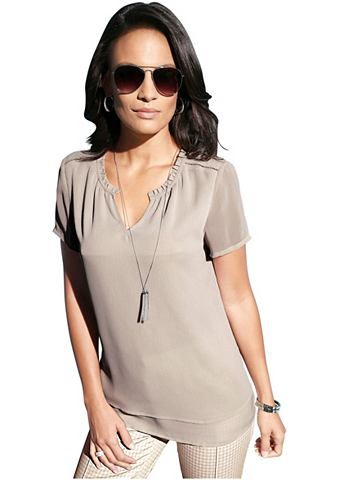 Création L блуза в легко Полупр...