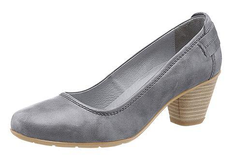 Туфли с abgesetztem Fersenriemen