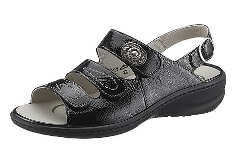 Туфли на удобной подошве сандалии с We...