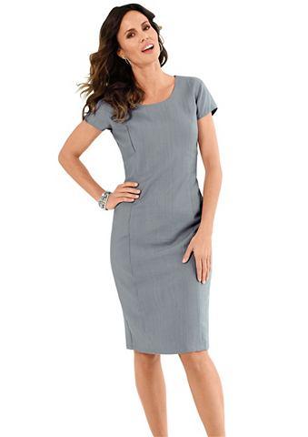 Платье в модный с мятым эффектом