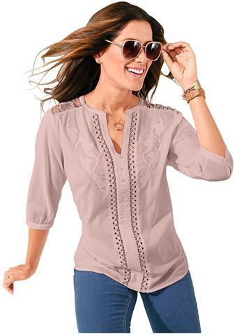 Блуза с изящный мягкий кружева