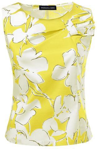 Блузка-топ цветочный узор