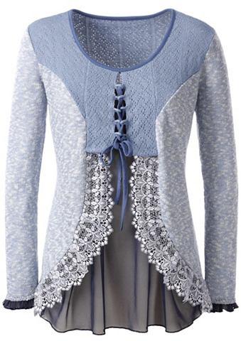 LADY Пуловер с ажурный узор