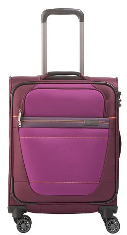 Текстильный чемодан с 4 колесики &raqu...