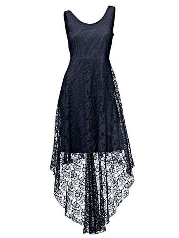 Кружевное платье асимметричный покрой
