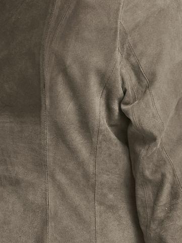 Куртка кожаная велюр