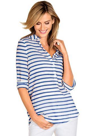 Création L блуза с длинa рукав