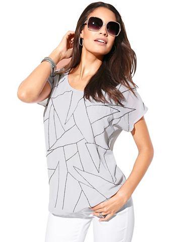 Création L блуза с Zierperlen-S...