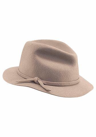 Шляпа мягкая фетровая