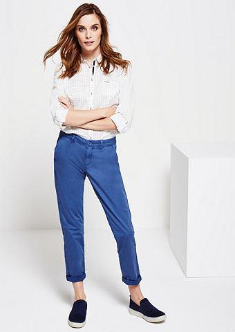 Нежный брюки в Used-Look