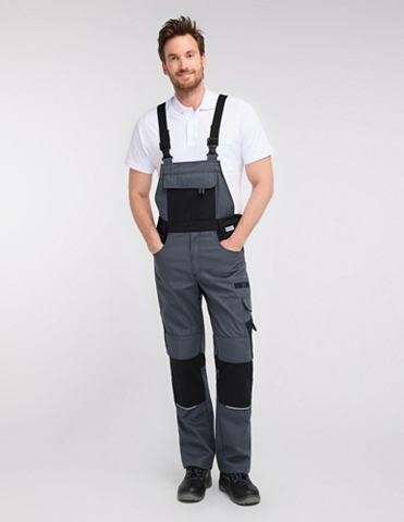 PIONIER WORKWEAR брюки с подтяжками Resist 1
