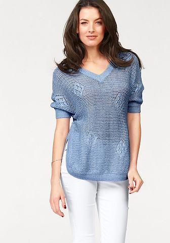 VIVANCE Пуловер с V-образным вырезом
