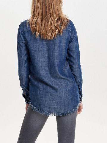 Raues рубашка джинсовая