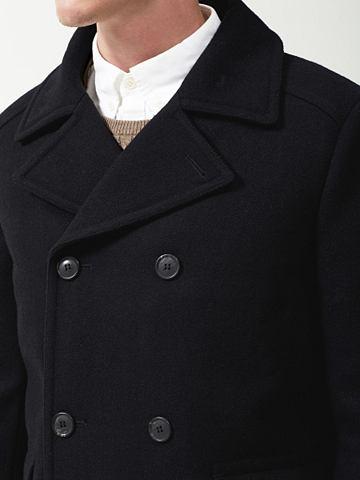 Пальто шерстяное в Regular форма