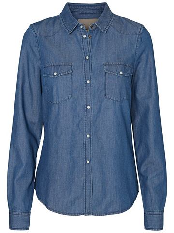 Рубашка джинсовая в lockerer форма