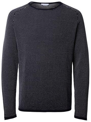 Классический пуловер трикотажный