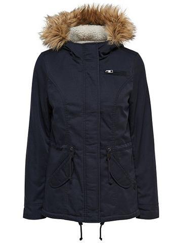 Kurzer лен куртка парка