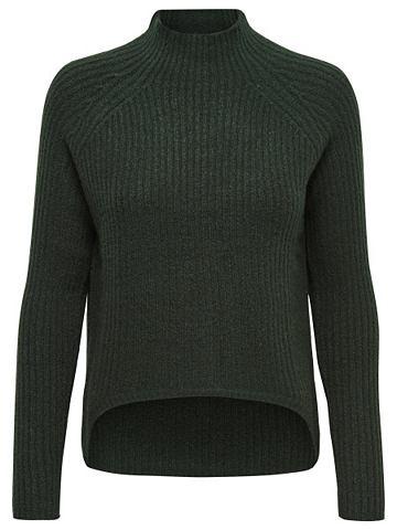 Стоячий воротничок пуловер трикотажный...