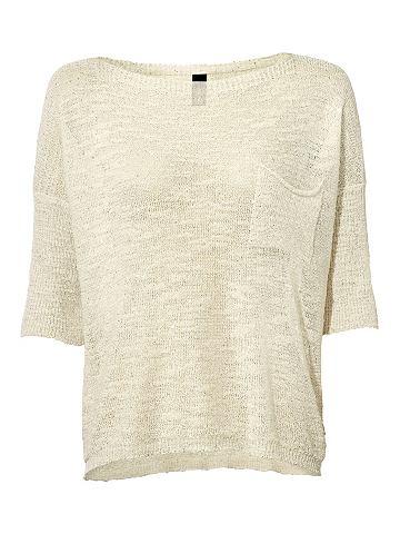 Пуловер Oversized с Pailletten-Besatz