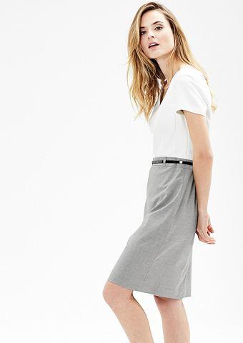 Платье в деловом стиле в Two-Tone-Look...