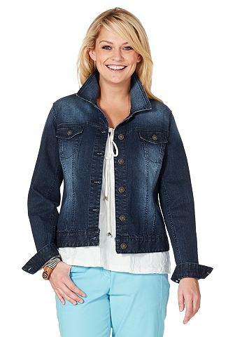 Sheego джинсы куртка короткая